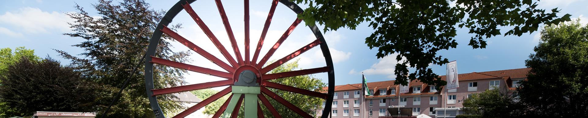 Homepage Stadt: Seilscheibe