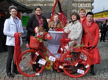 Aktion zum Equal Pay Day©Stadt Sehnde