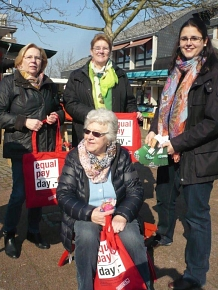 Equal Pay Day in Sehnde©Stadt Sehnde